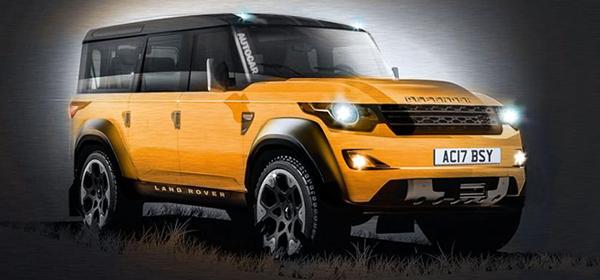 Jaguar Land Rover подтвердил разработку нового Defender