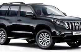 Toyota Land Cruiser Prado получил новую комплектацию для России
