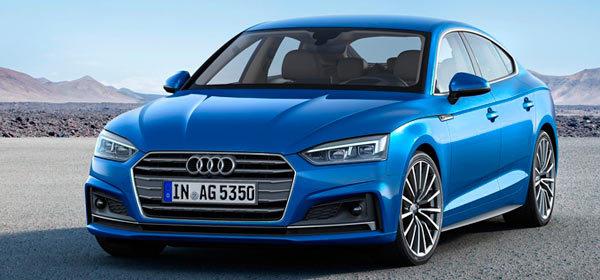 Audi представила пятидверную A5 нового поколения