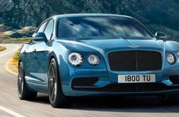 Самый быстрый седан Bentley появится в России в январе 2017-го