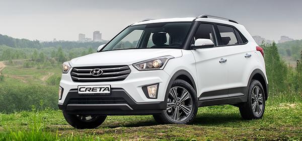 Hyundai Creta в августе стала самым популярным кроссовером России