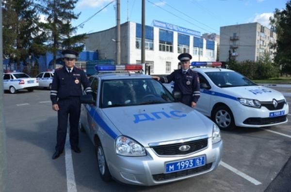В Смоленске полицейские спасли маленького ребёнка