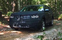 Volkswagen рассказал о семиместном кроссовере Teramont
