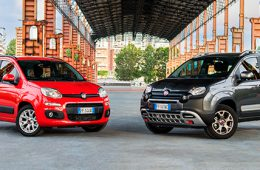 Fiat обновил хэтчбек Panda