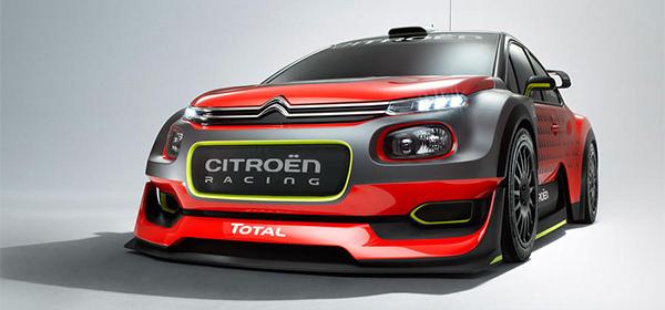 Citroen выпустил раллийный C3 нового поколения