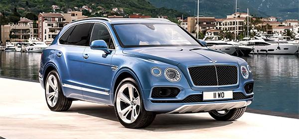 Bentley рассекретила технические подробности своей первой дизельной модели