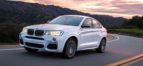 BMW X4 получил в России новую топовую версию