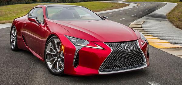 Lexus привезет в Россию самое дорогое купе