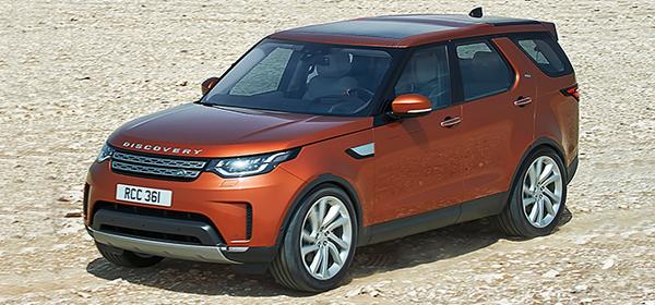 Land Rover анонсировал продажи нового Discovery в России