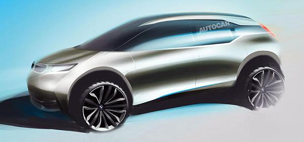BMW выпустит электрический кроссовер i5