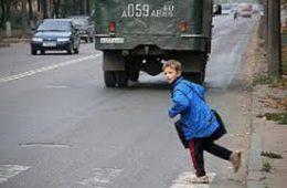 С начала года в Смоленской области произошло 30 аварий с участием детей-пешеходов