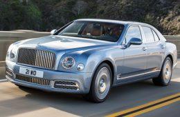 Bentley представил обновленную версию самого дорогого седана для России
