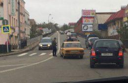 В Смоленске на Белявском путепроводе произошло ДТП