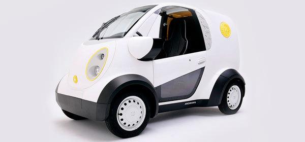 Honda представила созданный на 3D-принтере автомобиль