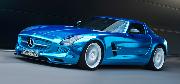 Mercedes-Benz создаст электрический спорткар