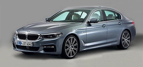 Дизайн новой BMW 5-Series рассекретили до премьеры