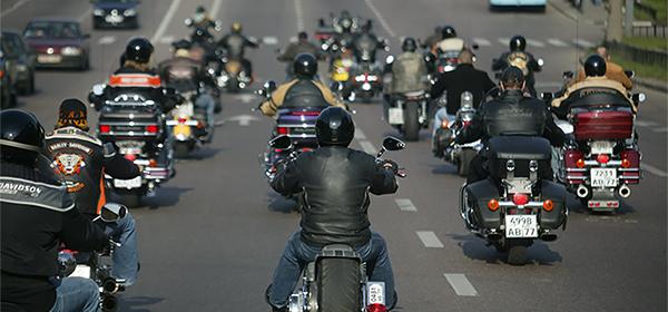 Общественная палата предложила ограничить скорость для мотоциклистов
