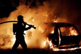 Под Смоленском сгорела «Toyota Camry»