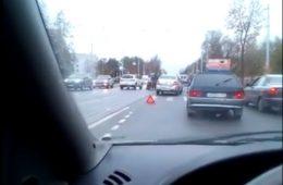 В Смоленске в утренней спешке сбили пешехода