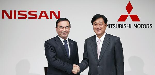 Nissan объявил о покупке контрольного пакета Mitsubishi