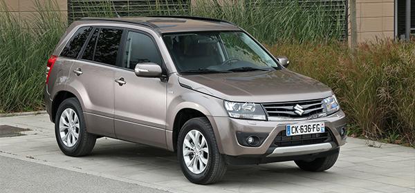 Suzuki отказалась от возобновления продаж Grand Vitara в России