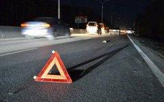 В Смоленске на Московском шоссе кроссовер сбил пешехода