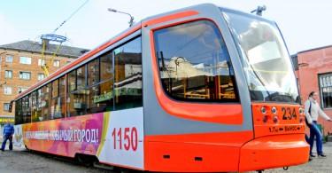 В Смоленске 8 ноября изменилась схема движения трамваев