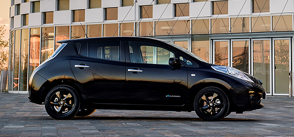 Nissan представил специальную версию электрокара Leaf
