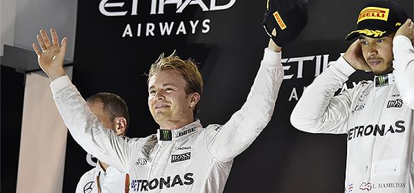 Нико Росберг выиграл чемпионат Формулы-1