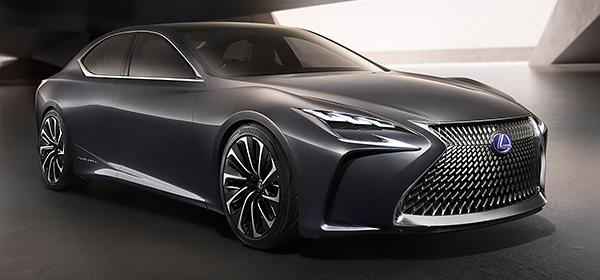 Lexus LS нового поколения получит водородный двигатель
