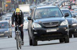 Как велосипедисту обезопасить себя на дороге