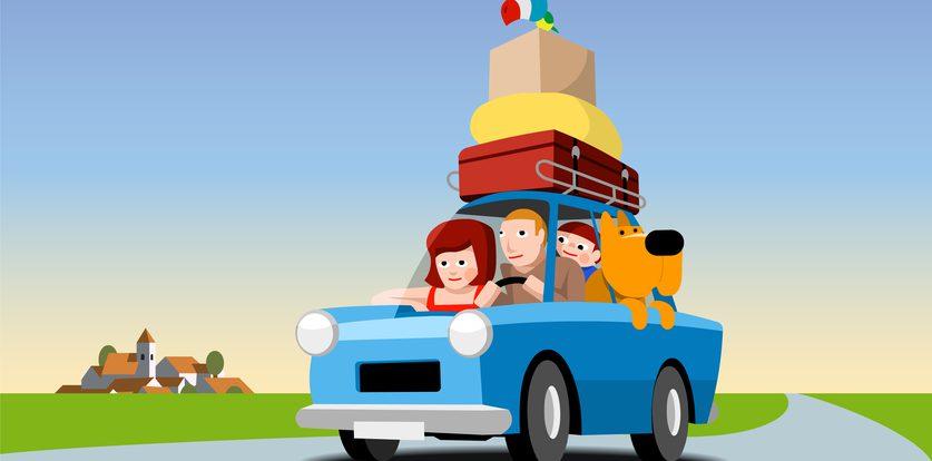 Багажник на крыше, или Как отвезти сразу и много