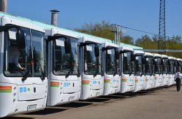 В Смоленске на маршруты вышли экологически чистые автобусы