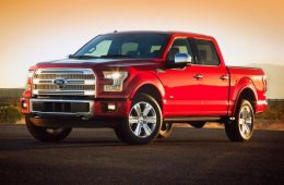 Ford показала новый пикап 2015 Ford F-150