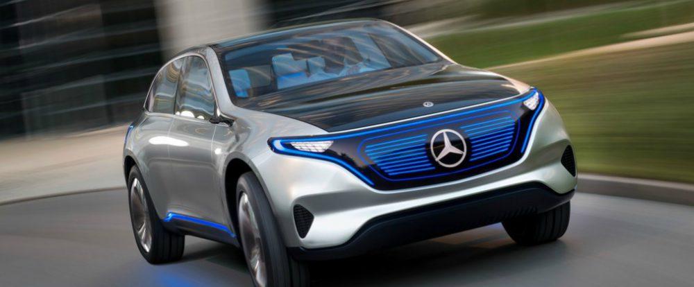 Mercedes-Benz привезет во Франкфурт электрический хэтчбек