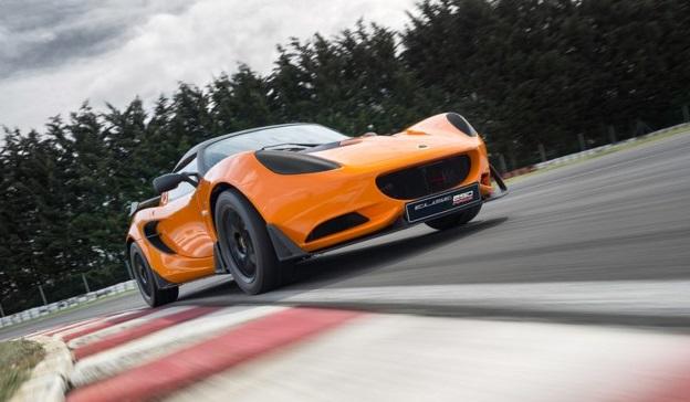 Новый гоночный Lotus Elise Race 250
