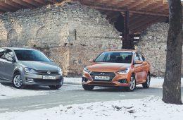 Хром-эффект. Новый Hyundai Solaris против VW Polo