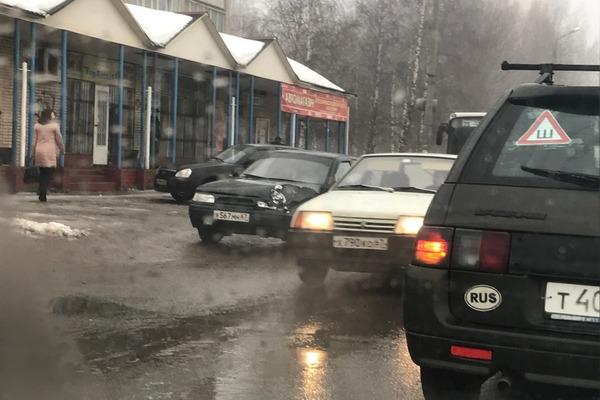 В Смоленске ДТП с участием 4-х машин
