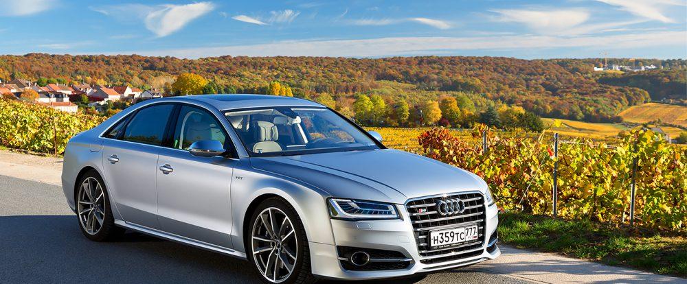 Еще немного – и Прованс. Тест-драйв Audi S8 plus