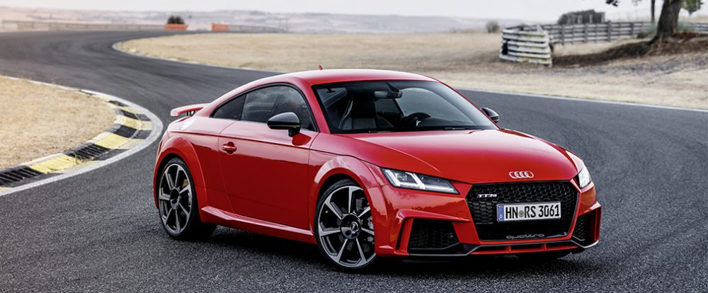 Audi представила новый TT RS в Москве