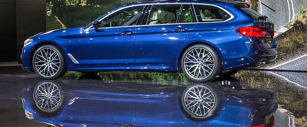 Новая BMW 5-Series стала универсалом