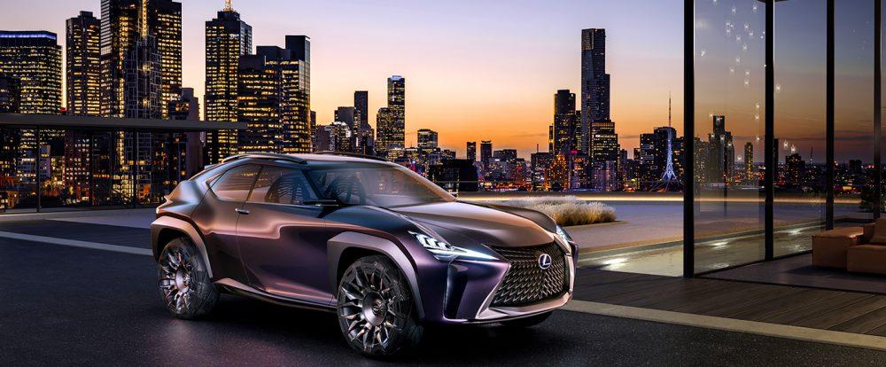 Lexus анонсировал премьеру нового кроссовера