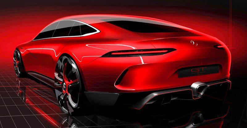 Герой своего времени: Mercedes-AMG «дразнит» четырехдверным концептом GT