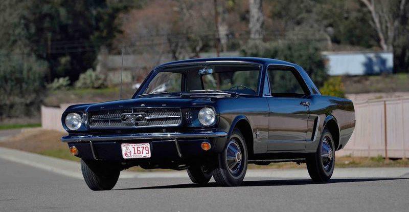 Самое первое купе Ford Mustang потрясет аукцион ценой