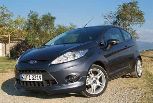 Автомобиль Ford Fiesta стал самым популярным в Европе