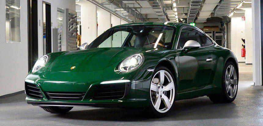 АВТОВАЗ поздравил Porsche… с юбилеем модели 911