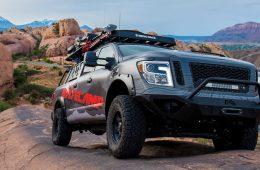 Nissan Titan подготовили к дальним путешествиям по бездорожью