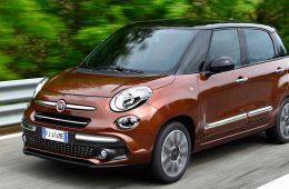 Компания Fiat представила обновленную модель 500L