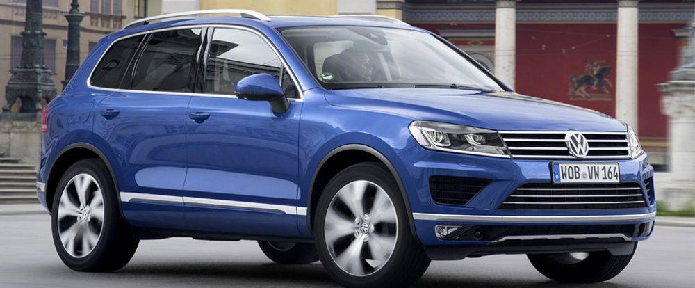 Volkswagen подтвердил прекращение сборки Touareg в России