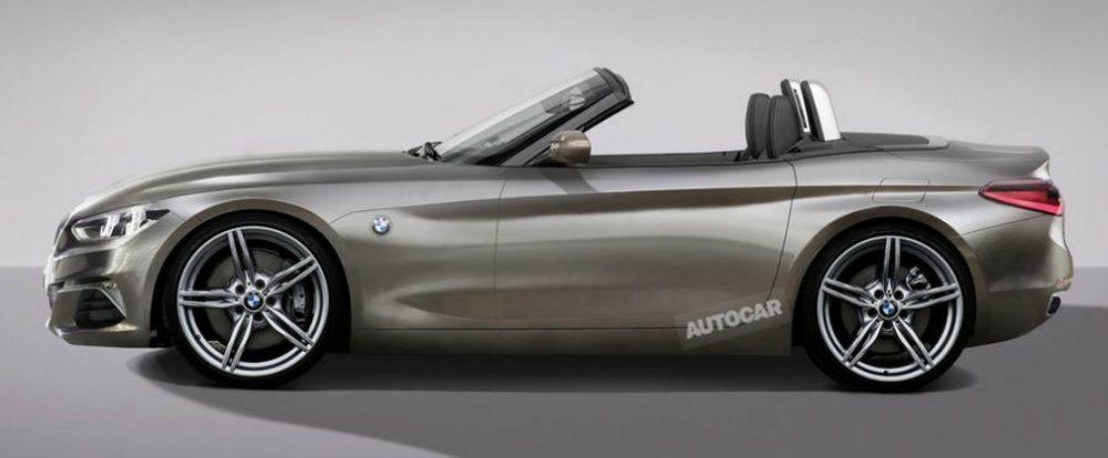 Компания BMW представит прототип преемника Z4 в августе